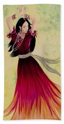 Gypsy Dancer Bath Towel