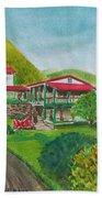 Hacienda Gripinas Old Coffee Plantation Bath Towel