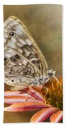 Hackberry Emperor Butterfly 2 Bath Towel