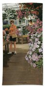 Haefner's Garden Center Impatiens Bath Towel
