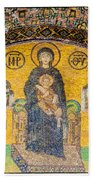 Hagia Sofia Mosaic 03 Bath Towel