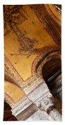 Hagia Sophia Arch Mosaics Bath Towel
