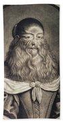 Hairy Maid, 17th Century Bath Towel