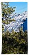 Half  Dome From Sentinel Dome Trail In Yosemite Np-ca Bath Towel