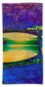 Hamilton Ohio City Art 6 Bath Towel