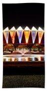 Hampton Coliseum Christmas Bath Towel