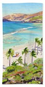 Hanauma Bay - Oahu Bath Towel