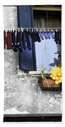 Hanging Out To Dry In Venice 2 Bath Towel