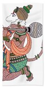 Hanuman Bath Towel