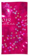 Happy Chinese New Year 2013  4 Bath Towel