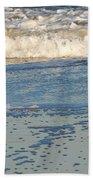 Happy Shorebird Bath Towel