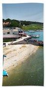 Harbor Town Beach 3 In Hilton Head Bath Towel