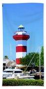 Harbour Town Lighthouse Bath Towel