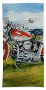 Harley Davidson 1943 Bath Towel