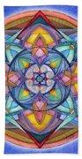 Harmony Mandala Bath Towel