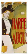 Harpers August 1897 Bath Towel