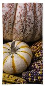 Harvest Still Life Bath Towel