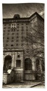 Haunted Baker Hotel Bath Towel