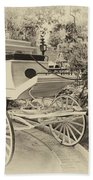 Haunted Mansion Hearse New Orleans Disneyland Heirloom Bath Towel