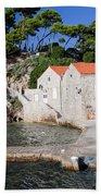 Haven In Dubrovnik Bath Towel