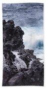 Hawaii Big Island Coastline V4 Bath Towel