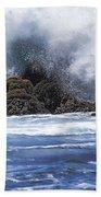 Hawaii Waves V3 Bath Towel