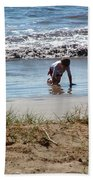 Beach Boy Bath Towel