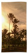 Hawaiian Landscape 7 Bath Towel