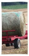 Hay Wagon Bath Towel