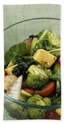 Healthy Mixed Salad Bath Towel