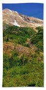 Heavens Peak Glacier International Peace Park Bath Towel