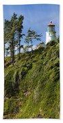 Heceta Head Lighthouse 1 A Bath Towel