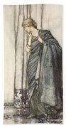Helena, Illustration From Midsummer Bath Towel