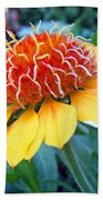 Helenium Flowers 2 Bath Towel