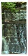 Hells Hollow Falls Bath Towel