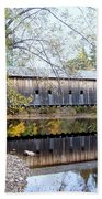Hemlock Covered Bridge Bath Towel