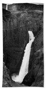Hengifoss Waterfall Bath Towel