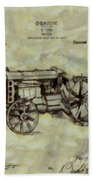 Henry Ford Tractor Patent Bath Towel