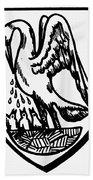 Heraldry Pelican Hand Towel