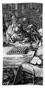 Herbal Medicine, 1676 Bath Towel
