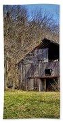 Hidden Barn Hand Towel by Cricket Hackmann