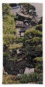 Hidden Pagoda Bath Towel