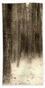 Hiding In The Trees By Diana Sainz Bath Towel