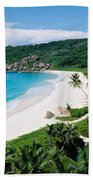 High Angle View Of The Beach, Grand Bath Towel