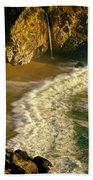 High Angle View Of Waterfall Bath Towel