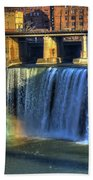 High Falls Rainbow Bath Towel