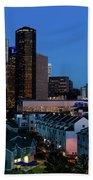 High Rise Buildings In Houston Bath Towel