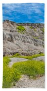 Hiking In The Badlands Bath Towel