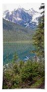 Hiking On Emerald Lake Trail In Yoho Np-bc Bath Towel