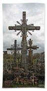 Hill Of Crosses 06. Lithuania.  Bath Towel
